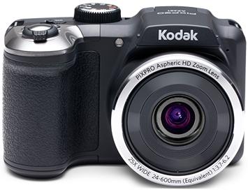 "Kodak PIXPRO AZ252 Bridge camera 16MP 1/2.3"" CCD 4608 x 3456pixels Black"