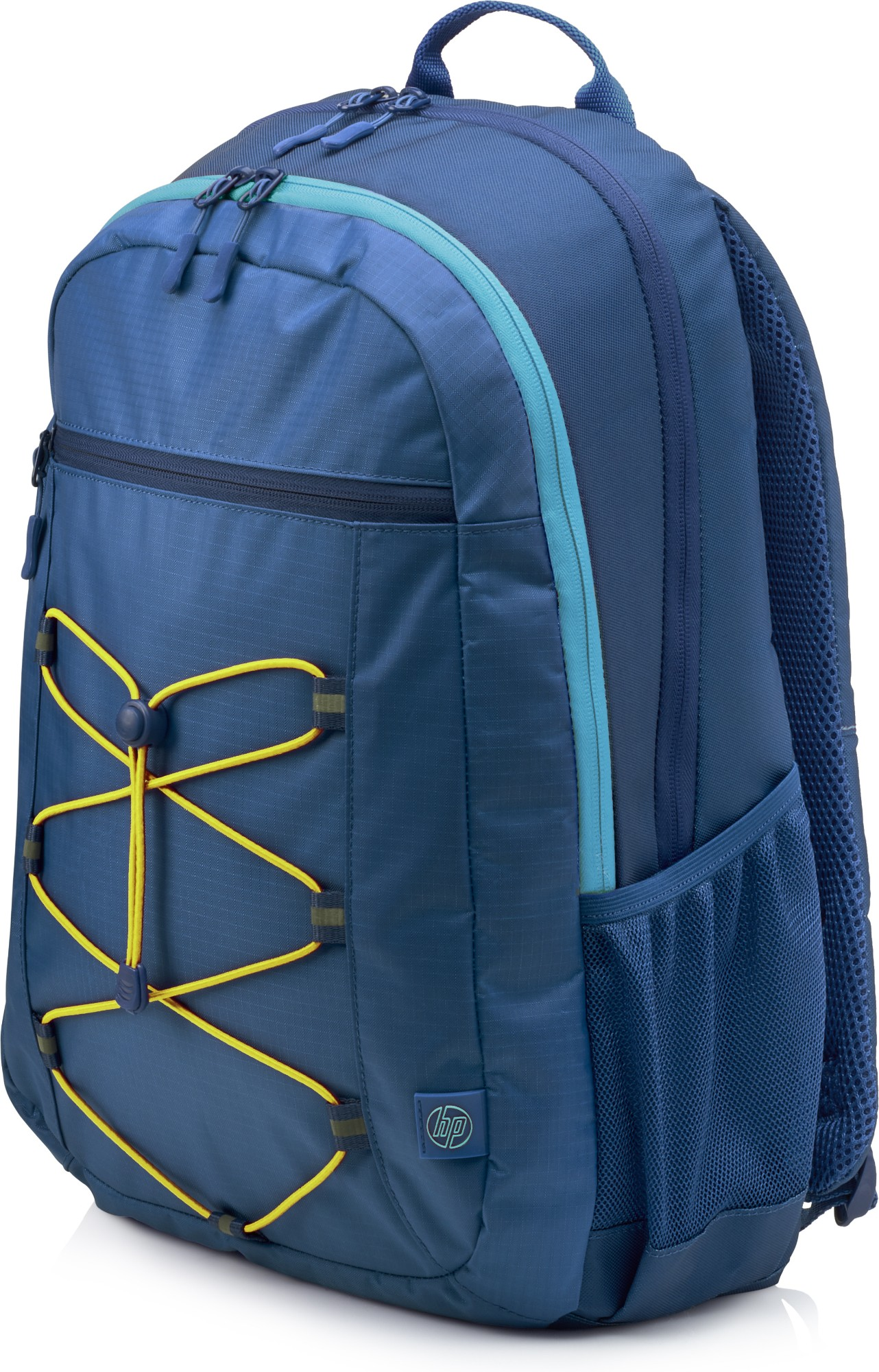 HP ACTIVE (NAVY BLUE/YELLOW) BACKPACK FABRIC BLUE,YELLOW