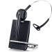 Sennheiser D 10 Phone Auriculares gancho de oreja, Diadema Negro, Plata