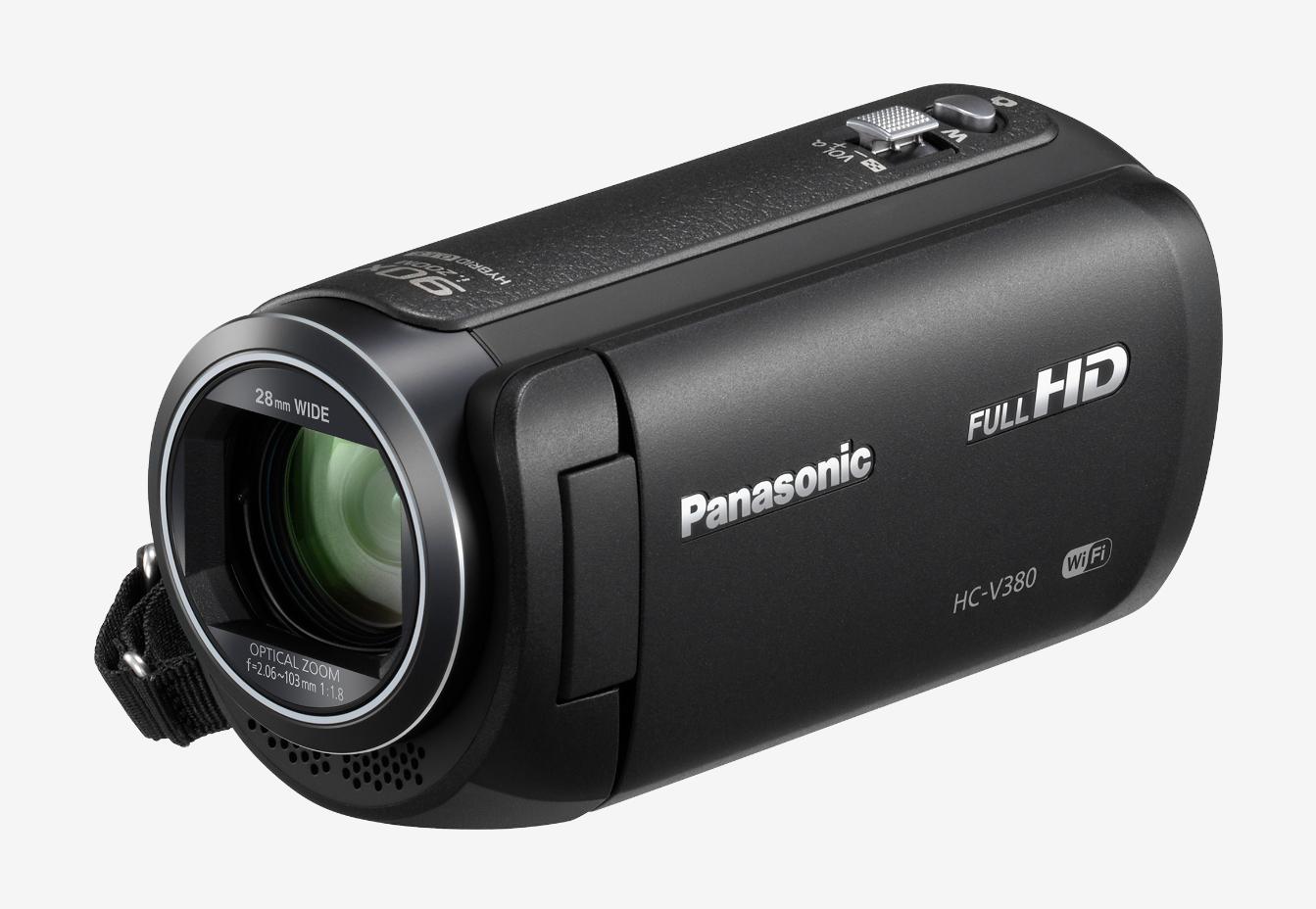 Panasonic HC-V380EG-K Full HD hand-held camcorder