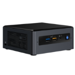 Intel NUC BOXNUC8I5BEH PC/workstation barebone i5-8259U 2,3 GHz UCFF Zwart BGA 1528