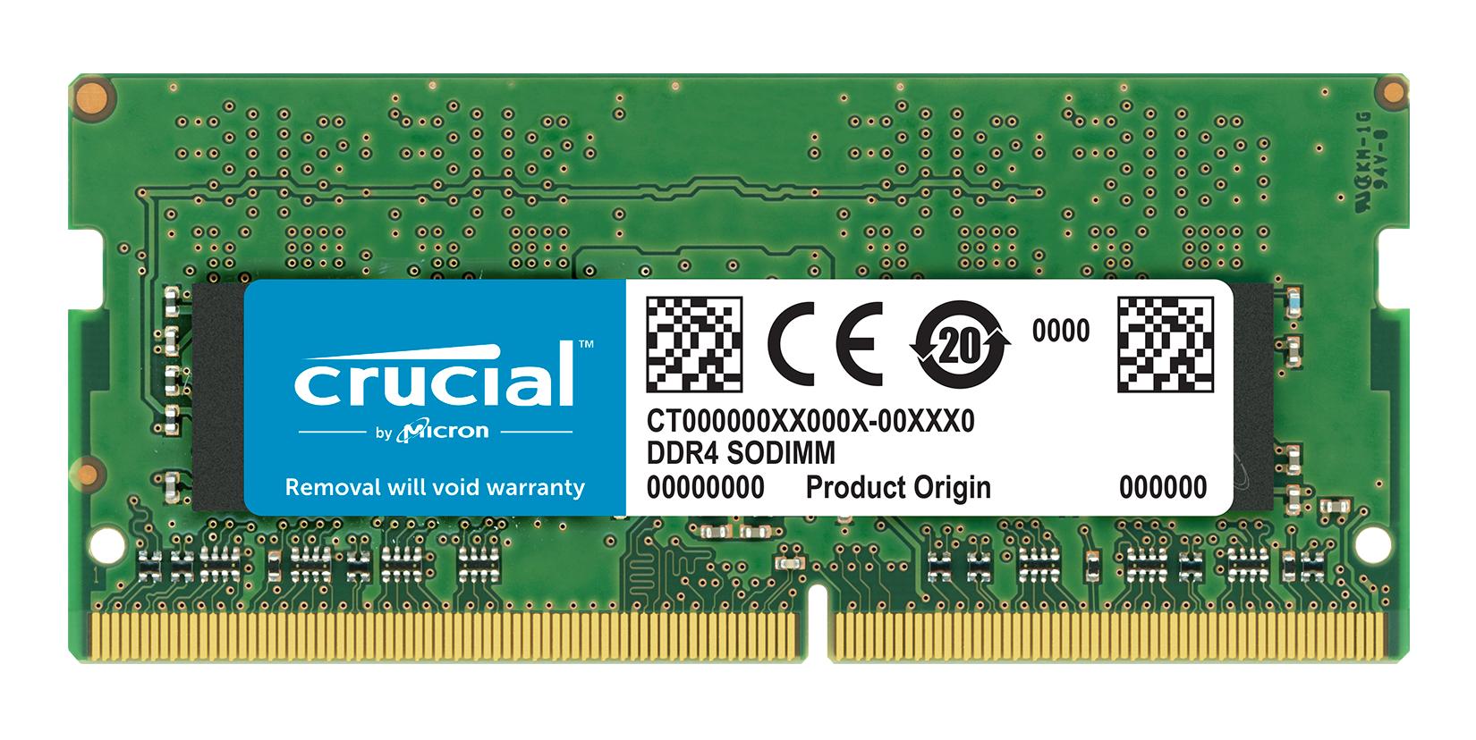 Crucial 16GB DDR4 módulo de memoria 2400 MHz