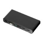 Lindy 38272 1 x DisplayPort, 1 x HDMI & 1 x VGA + 3.5mm Audio 1 x HDMI Black cable interface/gender adapter