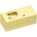 Post-It 653-YE self-adhesive label