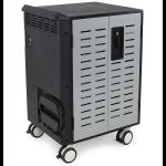 Ergotron Zip40 Portable device management cabinet Black, Grey