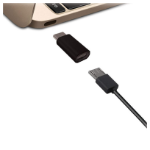 Jivo Technology JI-2047 cable interface/gender adapter USB-C Micro USB Black