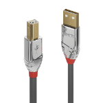 Lindy 36645 7.5m USB A USB B Male Female Grey USB cable