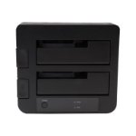 StarTech.com SDOCK2U313 storage drive docking station USB 3.2 Gen 2 (3.1 Gen 2) Type micro-B Black