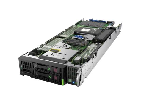Hewlett Packard Enterprise ProLiant BL460c Gen9 Intel C610 LGA 2011-v3 1U
