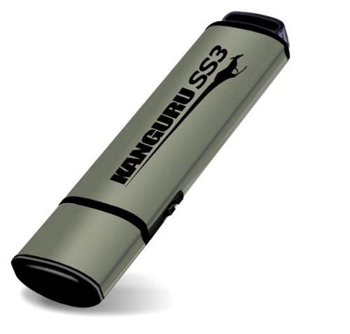 Kanguru 64GB SS3 USB3.0 USB flash drive USB Type-A 3.2 Gen 1 (3.1 Gen 1) Aluminium