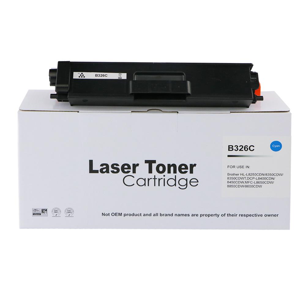 Remanufactured Brother TN326C Cyan Toner Cartridge