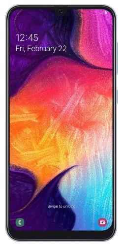 "Samsung Galaxy A50 SM-A505F 16.3 cm (6.4"") 4 GB 128 GB Dual SIM 4G White 4000 mAh"