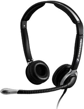 Sennheiser CC 550 IP mobile headset Binaural Black Wired