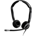 Sennheiser CC 550 IP Binaural Wired Black mobile headset