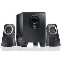 Logitech Z313 2.1channels 25W Black speaker set