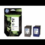 HP SA342AE Origineel Zwart, Cyaan, Magenta, Geel Multipack 2 stuk(s)