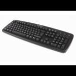 Kensington K64370A USB+PS/2 QWERTY Black keyboard