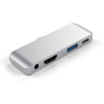 Satechi ST-TCMPHS interface hub USB 3.0 (3.1 Gen 1) Type-C 5000 Mbit/s Silver