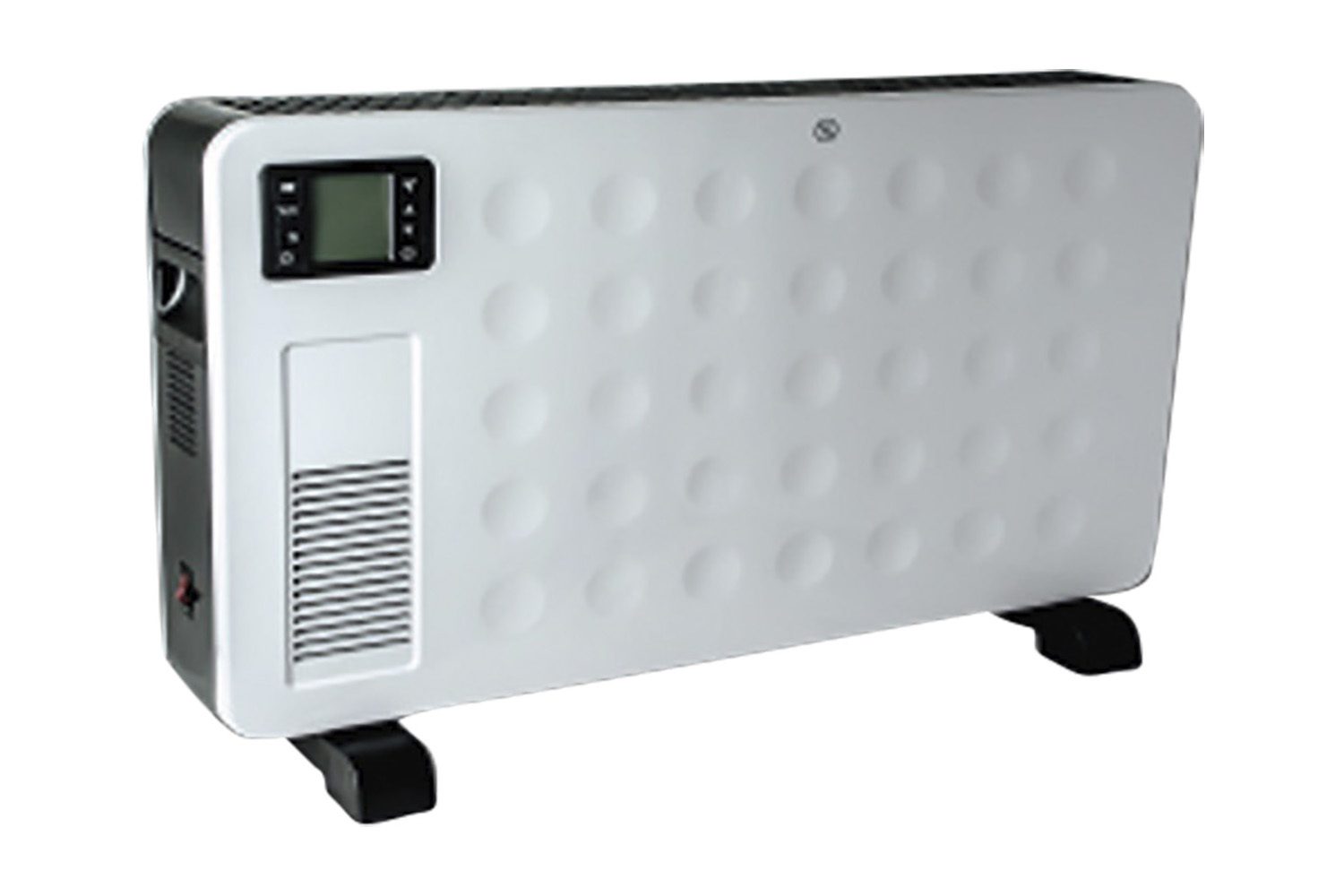 STATUS 2300w Portable Remote Controlled Convector Heater with 2 Heat Settings, Digital Display & Tim