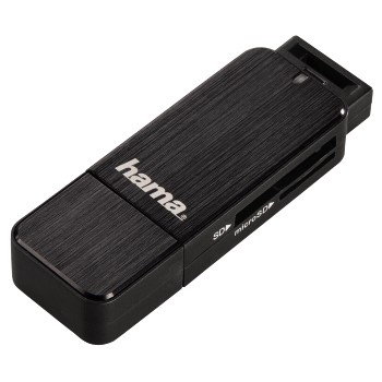 Hama 00123901 card reader USB 3.0 Black