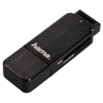 Hama 00123901 USB 3.0 Black card reader