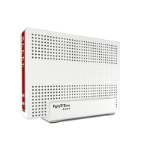 AVM 20002857 wireless router Dual-band (2.4 GHz / 5 GHz) Gigabit Ethernet Red,White