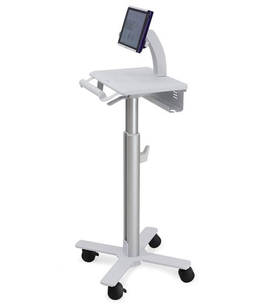 Ergotron StyleView Tablet Cart, SV10 Multimedia cart Aluminum, White