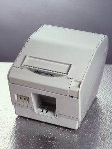 Star TSP 743 ll-24, ethernetinterface, White, Cutter,