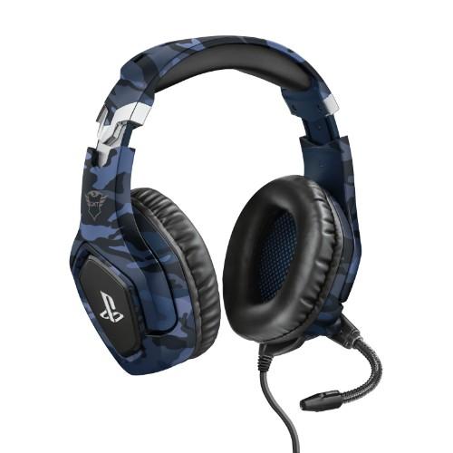 Trust GXT 488 Forze PS4 Headset Head-band Black, Blue