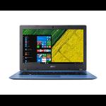 """Acer Aspire 1 A114-31-C2FP Blue Notebook 35.6 cm (14"""") 1366 x 768 pixels Intel® Celeron® N3350 4 GB DDR3L-SDRAM 32 GB Flash"""
