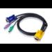 Aten 4ft PS/2 KVM cable 1.2 m Black