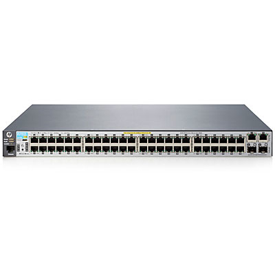 Hewlett Packard Enterprise 2530-48-PoE+ Managed L2 Fast Ethernet (10/100) Power over Ethernet (PoE) 1U Grey