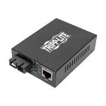 Tripp Lite N785-P01-SC-SM1 network media converter 1000 Mbit/s 1310 nm Single-mode Black