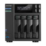 Asustor AS6204T NAS Ethernet LAN Black storage server
