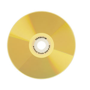 Verbatim UltraLife™ Gold Archival Grade DVD-R 4.7GB 8X 50pk Spindle 4.7GB DVD-R 50pc(s)