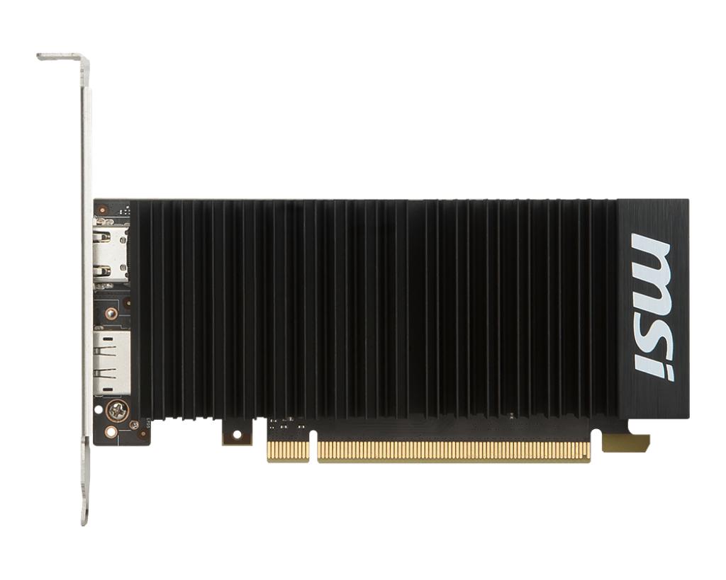 MSI GEFORCE GT 1030 2GH LP OC graphics card NVIDIA 2 GB GDDR5