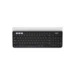 Logitech K780 toetsenbord RF Wireless + Bluetooth QWERTY US International Zwart, Wit
