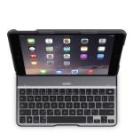 Belkin QODE Ultimate Lite QWERTZ German Aluminium,Black mobile device keyboard