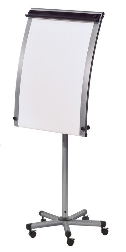 Bi-Office Roll Up Mobile easel Silver