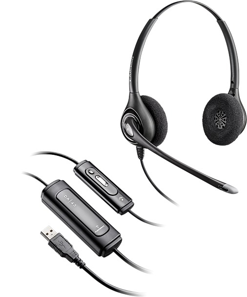 Plantronics Supraplus D261n Headset Head Band Binaural