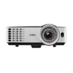 Benq MX631ST data projector Desktop projector 3200 ANSI lumens DLP XGA (1024x768) 3D Black, Grey