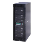 Kanguru NET-DVDDUPE-S11 media duplicator Optical disc duplicator 11 copies Black
