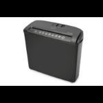 Digitus DA-81604 paper shredder Strip shredding 21.8 cm 74 dB Black