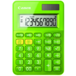 Canon LS-100K Desktop Basic calculator Green
