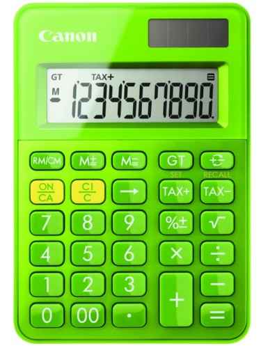 Canon LS-100K calculator Desktop Basic Green