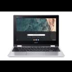 "Acer Chromebook CP311-2H Silver 29.5 cm (11.6"") 1366 x 768 pixels Touchscreen Intel® Celeron® N 4 GB LPDDR4-SDRAM 64 GB Flash Wi-Fi 5 (802.11ac) Chrome OS"
