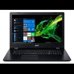 "Acer Aspire 3 A317-51K-30NK Zwart Notebook 43,9 cm (17.3"") 1600 x 900 Pixels Zevende generatie Intel® Core™ i3 i3-7020U 4 GB DDR4-SDRAM 256 GB SSD"