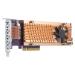 QNAP QM2-4P-384 interface cards/adapter Internal PCIe