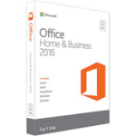 Microsoft Office Mac Home & Business 2016, EN 1 license(s) English