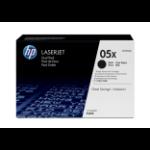 HP 05X Origineel Zwart 2 stuk(s)